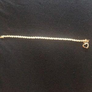 Jewelry - Diamond accent tennis bracelet